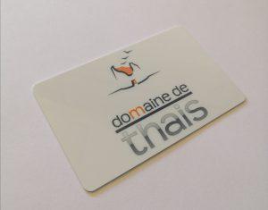 Carte restaurant inter-entreprise Domaine de Thais